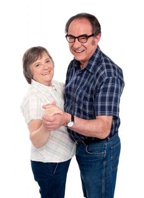 Simple exercises for the elderly.