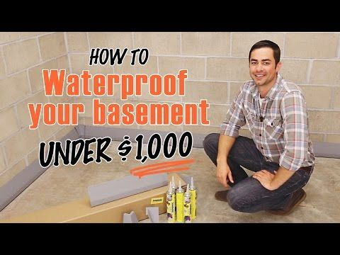 Basement Waterproofing System Products | How to waterproof a Basement