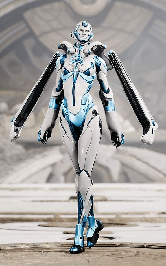 Muriel. Hero from Paragon, great MOBA by Epic Games.