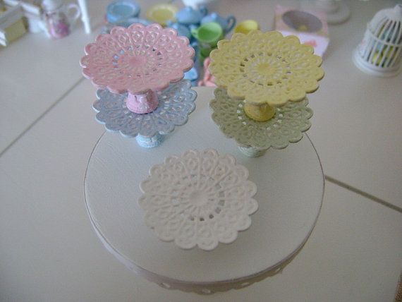 Miniature LACE CAKE STAND