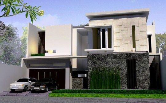 http://inrumahminimalis.com - Rumah Minimalis Modern 2 Lantai