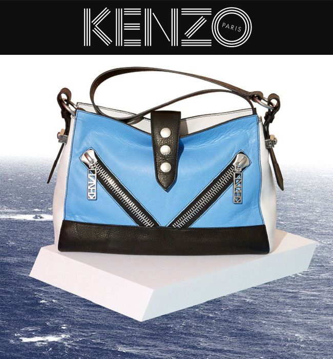 Kenzo bag collection ss 2014 - ChirulliShop.com  #spring #summer #collection #style #fashion #ss2014 #shopping #moda #woman #kenzo #bag  http://bit.ly/1lVuPCU