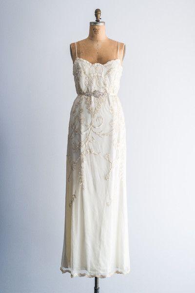 Vintage midi Wedding Dress