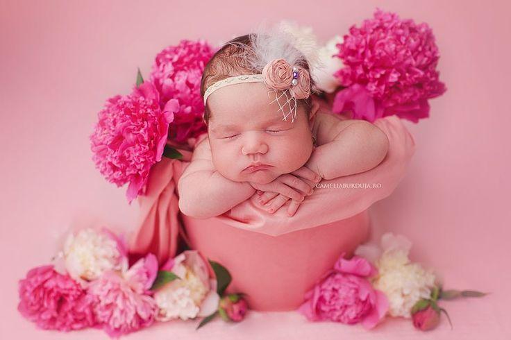 Little peony baby girl