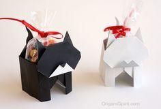 Post image for Un lindo gatito en origami ¡También es una caja! (Versión 1 de 2)