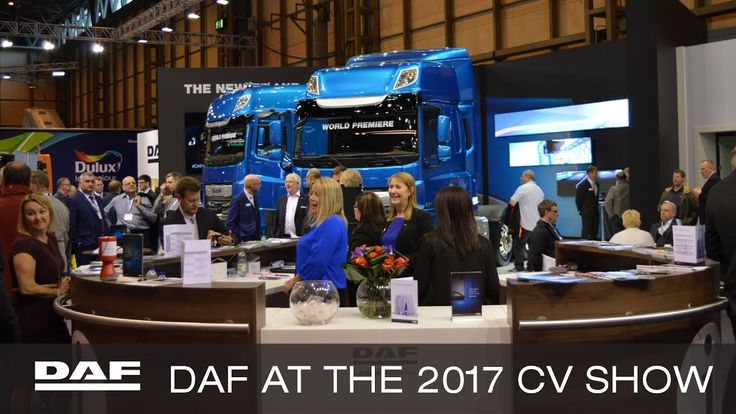 DAF Trucks UK | DAF at the Commercial Vehicle Show (CV Show) 2017