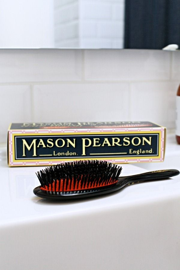 C: Have you got any other beauty must-haves that you can't live without? D: My hot rollers and my Mason Pearson brush. I love my Mason Pearson brushes! They last me for years and years. They've never let me down, and are always worth every penny in the end.