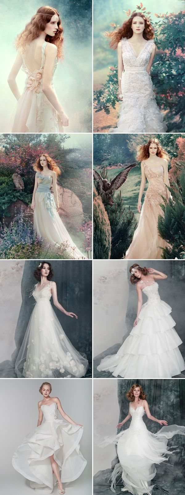 Best 25 whimsical wedding dresses ideas on pinterest for Romantic ethereal wedding dresses