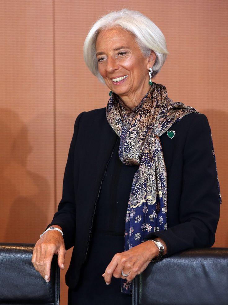 Christine Lagarde Photos - Angela Merkel Meets with World Leaders - Zimbio