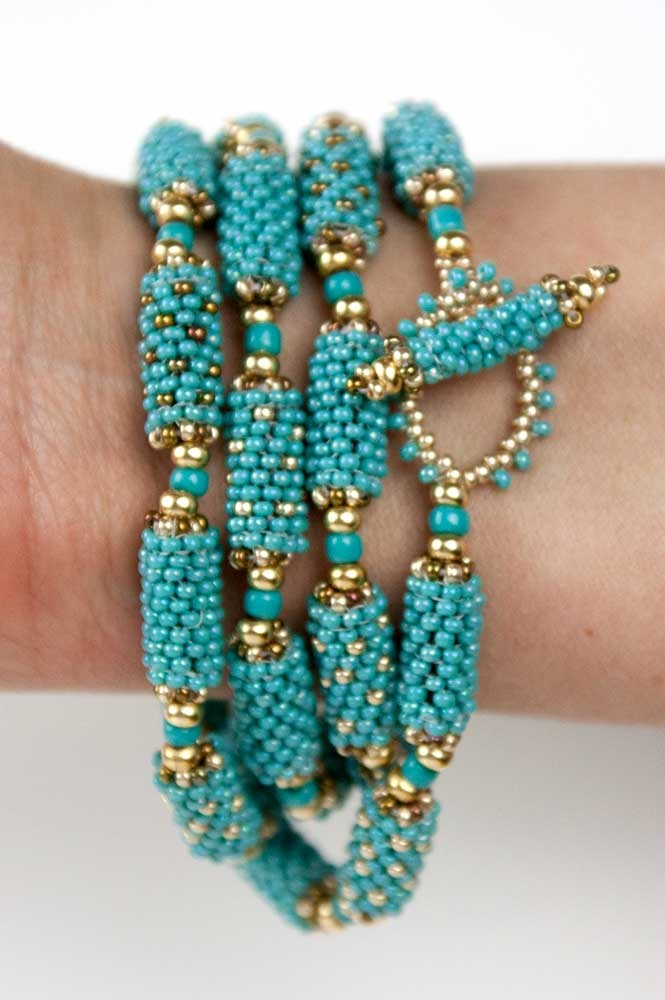 Beautiful beaded bead Bracelet