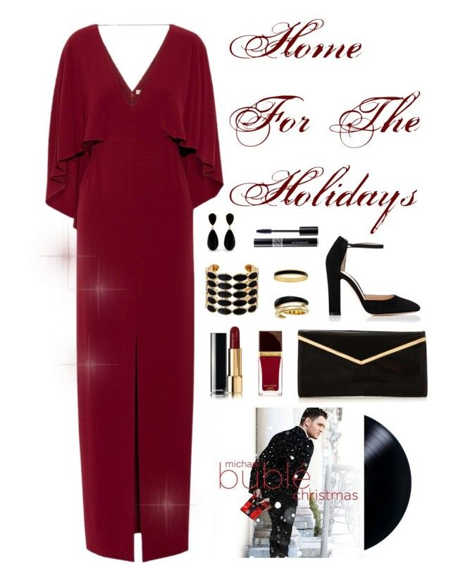 """Michael Buble Christmas Album-- one of my Favs!"" by lulu15emma ❤ liked on Polyvore featuring Halston Heritage, Gianvito Rossi, House of Harlow 1960, Michael Kors, Halcyon Days, Tom Ford and Christian Dior"