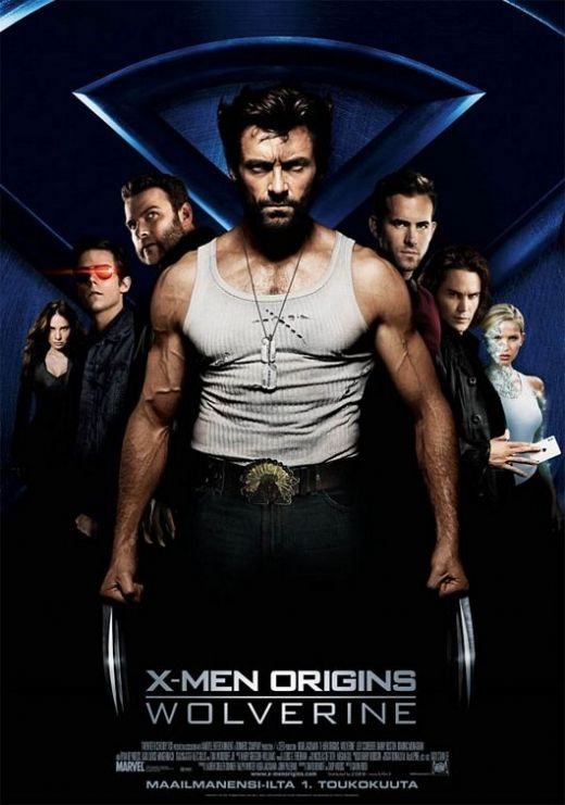 "Rotten Tomatoes with Critic Score-38% and User Score- 59%.  ""X-Men Origins: Wolverine"" movie."