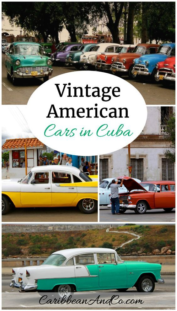 One of the greatest marvels to see on the Caribbean streets of Cuba are the vintage American cars which have survived through the ingenuity of the mechanics.