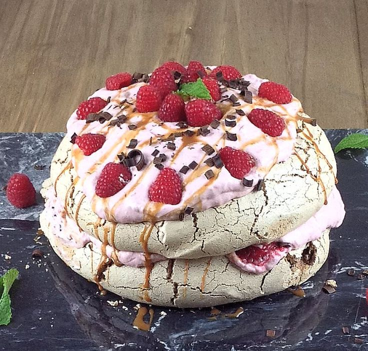 Double Chocolate Pavlova with Raspberry Cream is an impressive dessert that will…