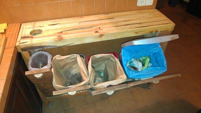 Mueble para el reciclage