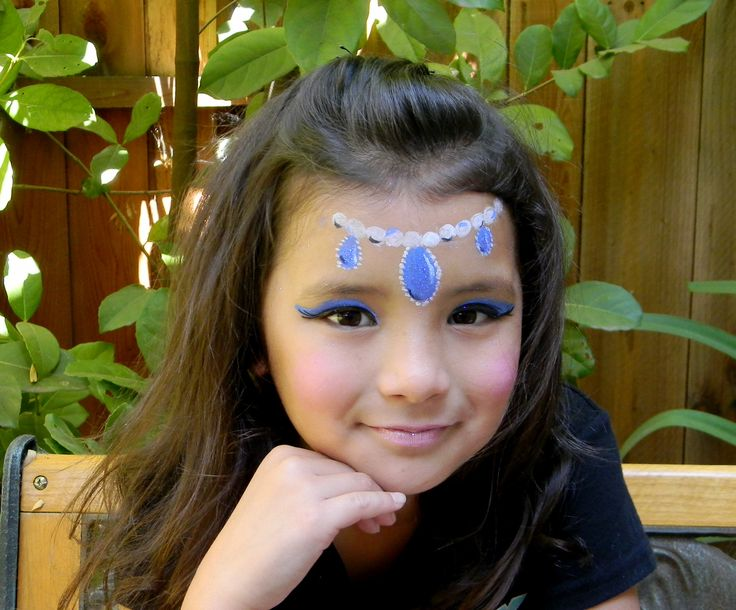 face painting for kids birthday party - princess orient
