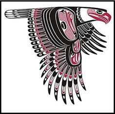 aida tatoo on Pinterest | 34 Images on native art, haida art and indi…