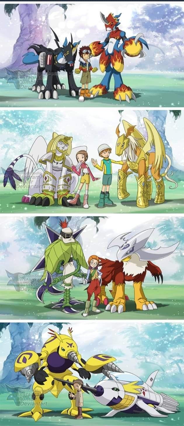 All Patamon S Armor Digivolutions By Petronikus On Deviantart Digimon Digital Monsters Digimon Digimon Adventure