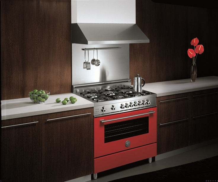 A Ferrari Red Range Cooker From Bertazzoni Perfect For