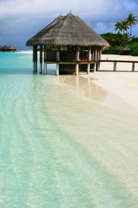 Maldives ... Indian ocean.  A world away but worth every mile if you love crystal clear, warm water & gorgeous scenery!  ASPEN CREEK TRAVEL - karen@aspencreektravel.com