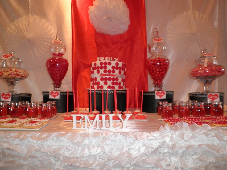 STYLED BY PRINCESS JADES CANDY BUFFETS! CAKE, COOKIES, BY OH SUGAR!