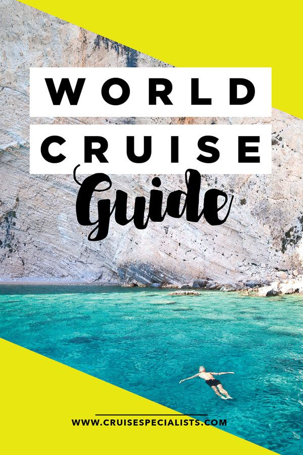 Why see one place when you can see them all?! A world cruise is the easiest way to cross many places off your bucket list without all the flying or unpacking! Get the free world cruise guide