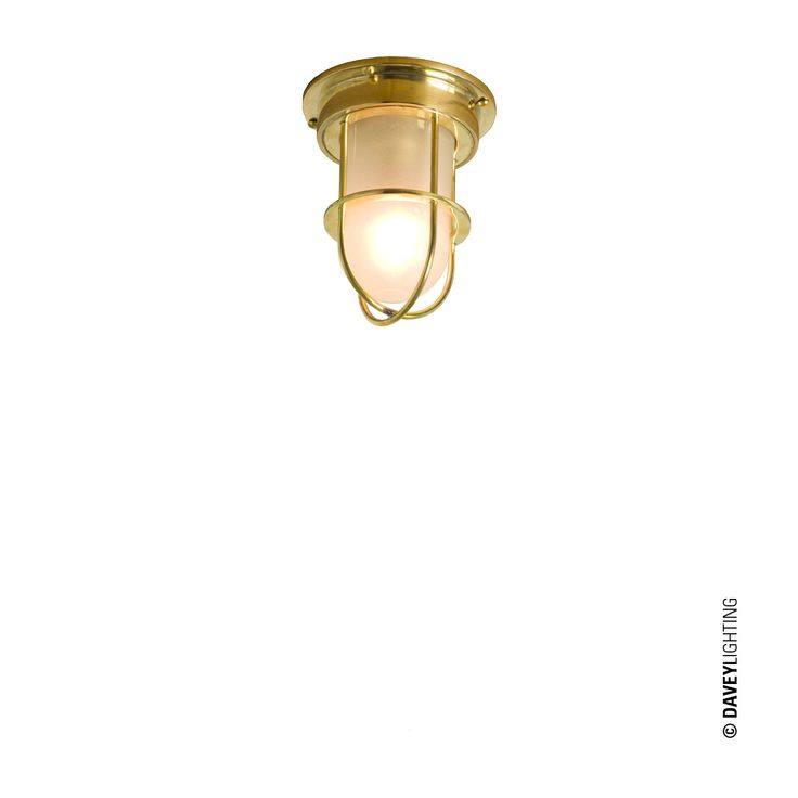 7204 Miniature Guarded Companionway Light By Davey Lighting