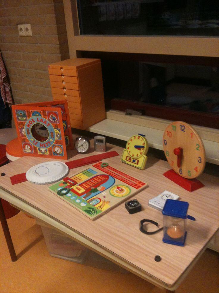 Kinderen brachten deze materialen van thuis mee