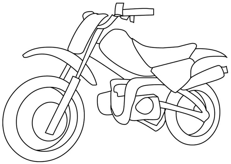 16 best Motorcycles Coloring Pages