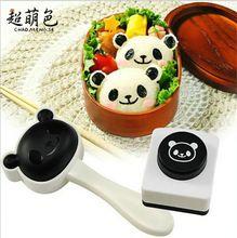 Новый супер милый панда рисовые шарики плесень суши DIY костюм / творческая кухня инструменты(China (Mainland))