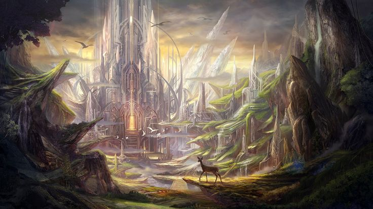 pictures of fantasy landscapes | Alpha Coders | Wallpaper Abyss Fantasy Landscape 323527