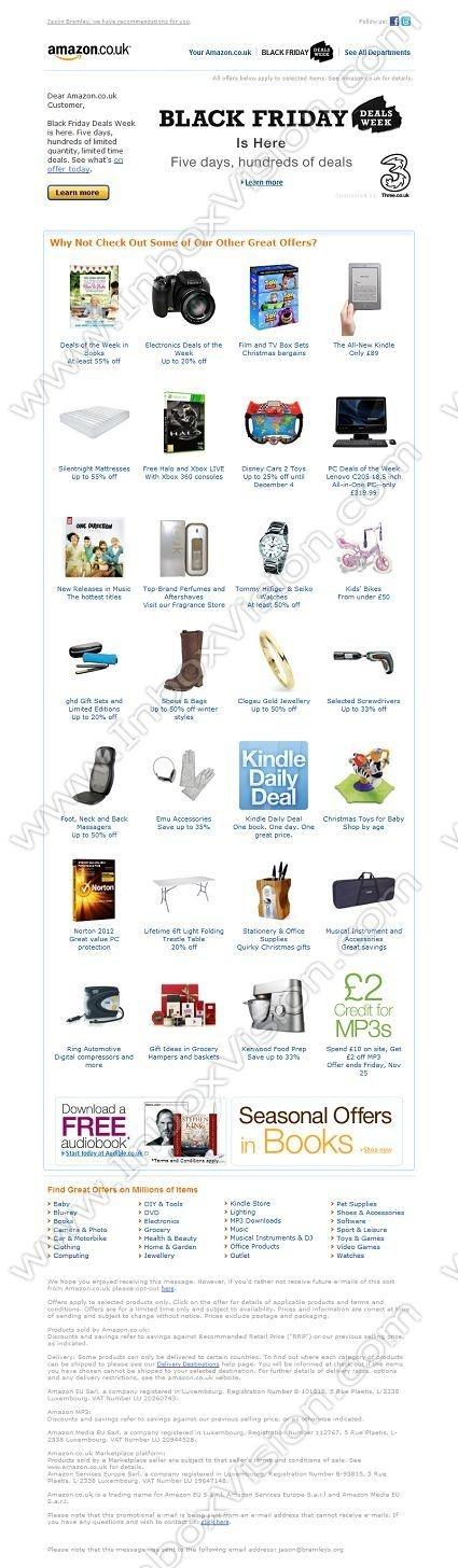 Jessops Discount Code >> 90 best Black Friday Emails images on Pinterest | Email marketing, Black friday and Black friday ...