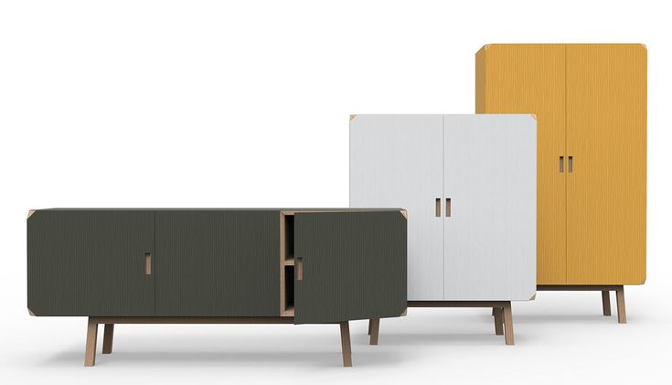 Cartalegno by Alf da Frè, a fresh new take on kitchen dressers   | Cartalegno draws on fifties design, pieces with a fresh young vibe, suited to a variety of different decors.