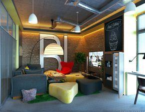 Комната отдыха для сотрудников компании - Галерея 3ddd.ru