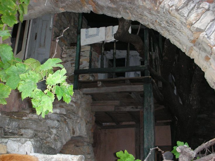 Old abandoned house in the #Chora (town) on #Alonissos.  From my guest post for @PurpleTravel.co.uk.co.uk.co.uk http://blog.purpletravel.co.uk/2013/11/12/guest-post-alonnisos-secret-greek-island/