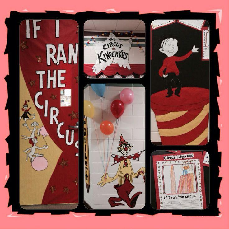 If I Ran The Circus - Bulletin Board & Door