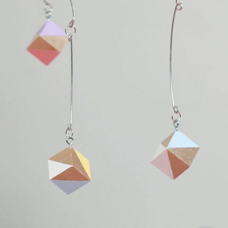 This Colorful Geometric Mobile Adds Charm To Any Room