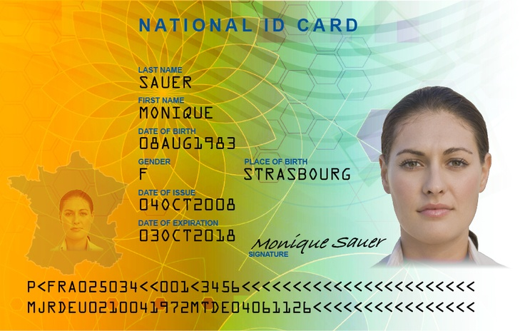 Credencial con holograma de seguridad, tarjeta de empleado, alumnos, identificacion con sellos de seguridad, identidad impresa. Visite hoy http://www.magicard.com.mx