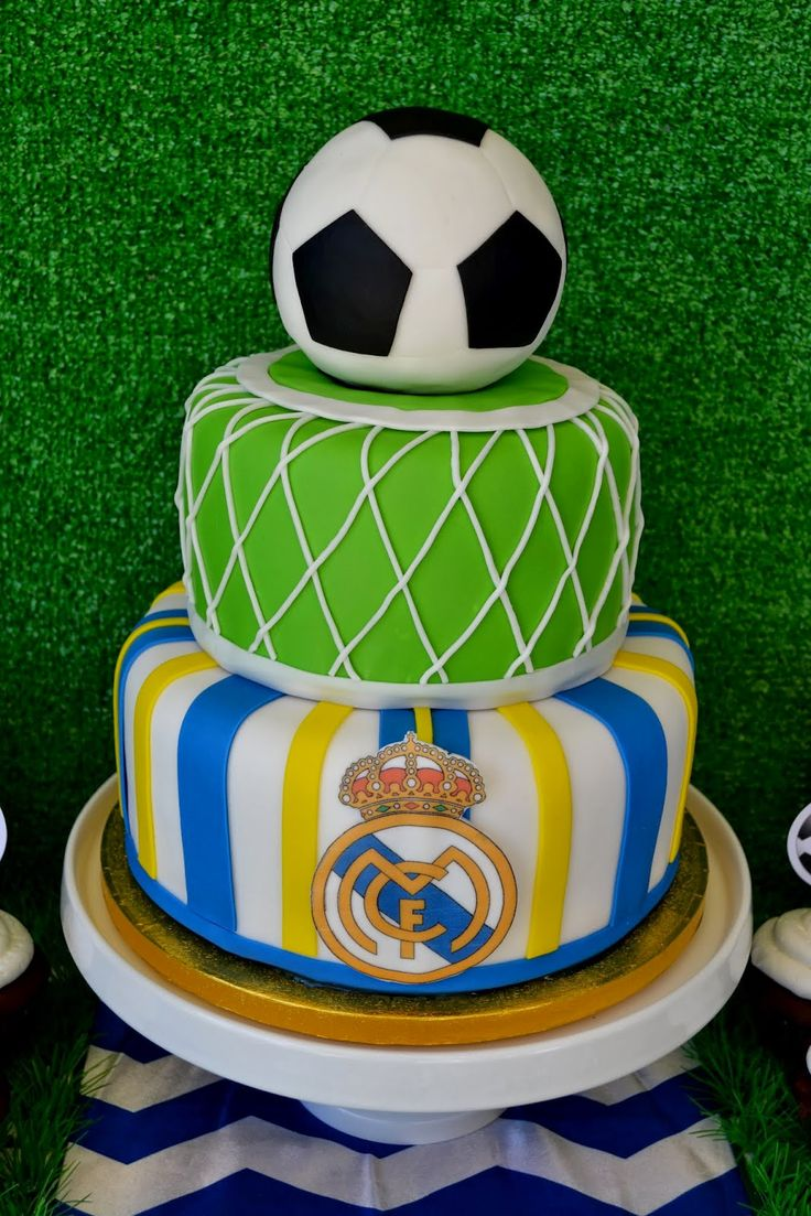 about Real Madrid Cake on Pinterest  Real madrid soccer, Real madrid ...