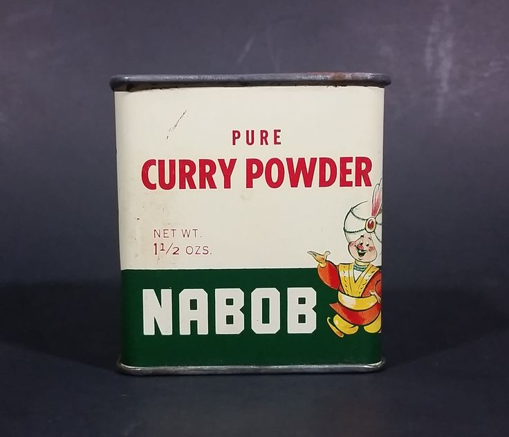 1950s Nabob Foods Vancouver Pure Curry Powder Spice Tin - Still has product inside https://treasurevalleyantiques.com/products/1950s-nabob-foods-vancouver-pure-curry-powder-spice-tin-still-has-product-inside #Vintage #MidCentury #Nabob #Foods #Vancouver #BritishColumbia #BC #Canada #Canadian #Pure #Curry #Powder #Spices #Tins #VintageTins #Foods #Kitchen #Collectibles #Decor