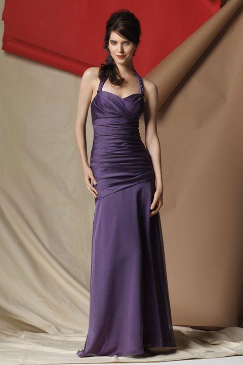 Gorgeous sleeveless trumpet / mermaid bridesmaid dress