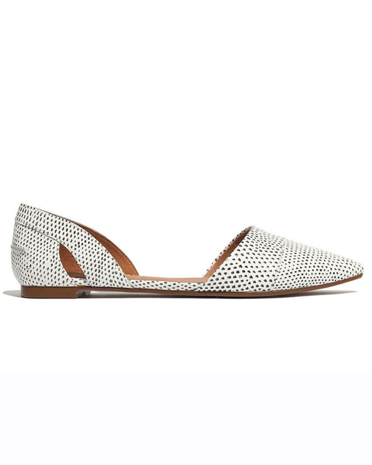 Madewell The d'Orsay Flat in Snake Spot | LuckyShops