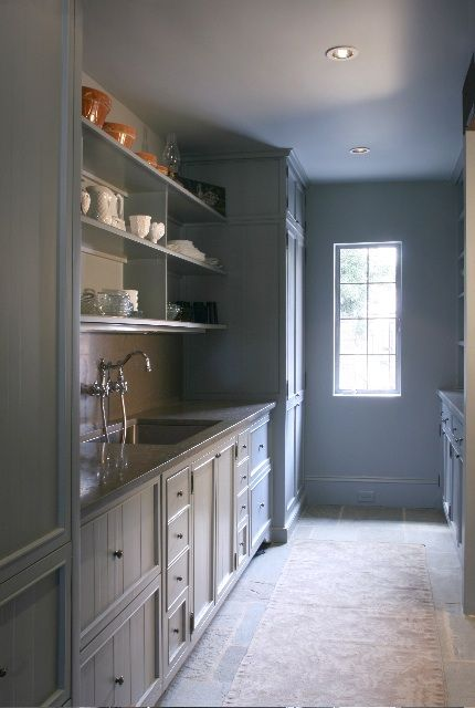 112 best images about walk in pantries on pinterest for Kitchen plans with butlers pantry