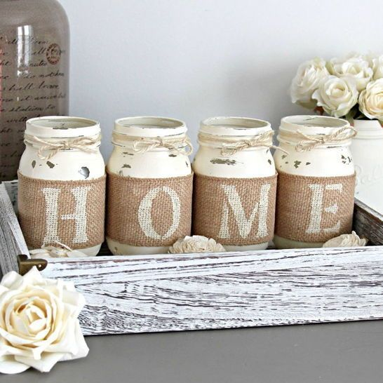 46 best handmade home decor images on pinterest for Handmade home decorations