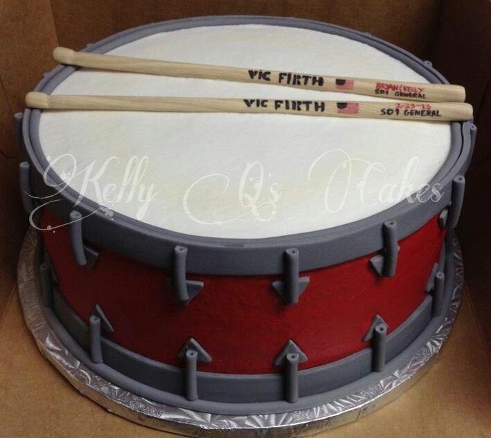 25 Best Ideas About Drum Cake On Pinterest Drum