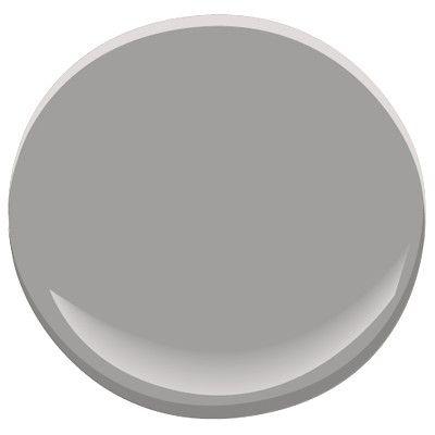 Sterling silver paint by Benjamin Moore
