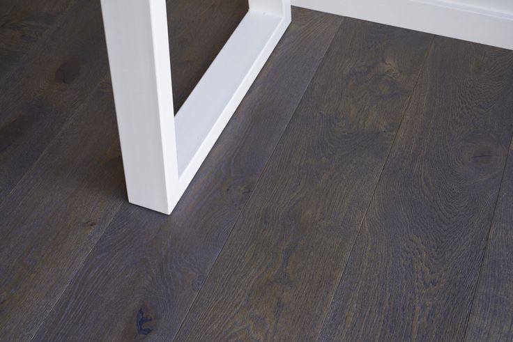 Kustom Timber Mink Grey French Oak Hardwood Timber Flooring || This is part of our new Designer Range