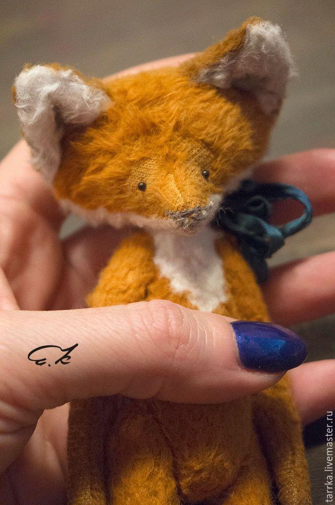 Купить Лисёнок Ло - рыжий, подарок, лиса, лисичка, лисенок, мальчик, друзья тедди