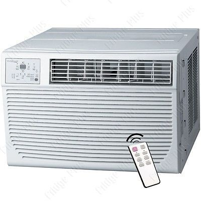 25000 BTU Window Air Conditioner w/ 16000 BTU Heater, 1500 Sq. Ft. Home AC Unit