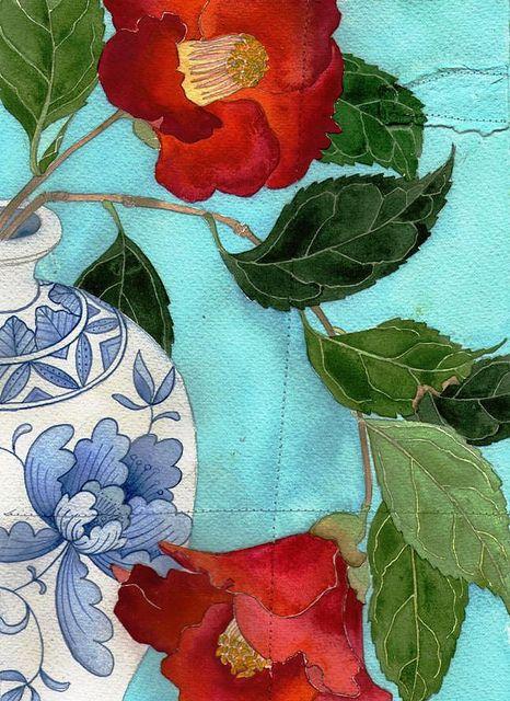 camellias by Mango Frooty, aka Gabby Malpas -